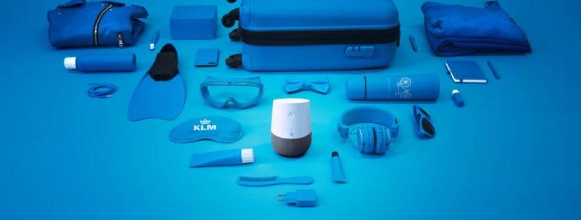 klm diensten google home speaker