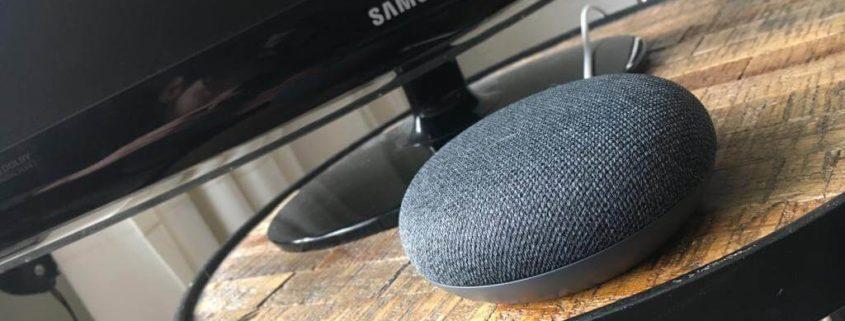 google home koppelen aan samsung tv
