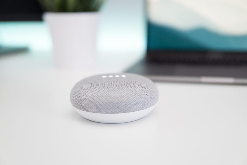 google home mini draadloos accu