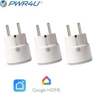 slimme stekker voor google home set