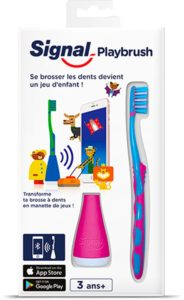tandenborstel met app voor kinderen