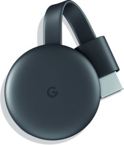 chromecast voor video streamen naar tv
