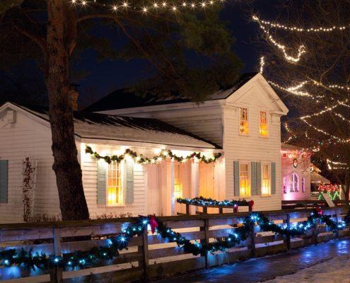 slim kersthuis