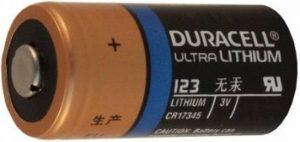 cr123a batterij voor fibaro rookmelder