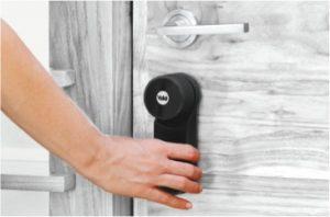 slim deurslot yale binnenzijde