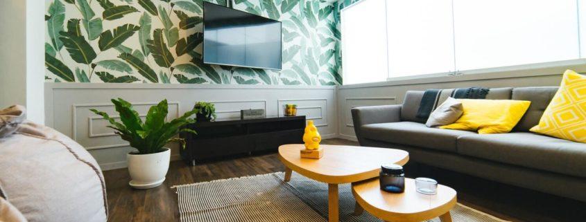 minder bekabeling bij een smart tv