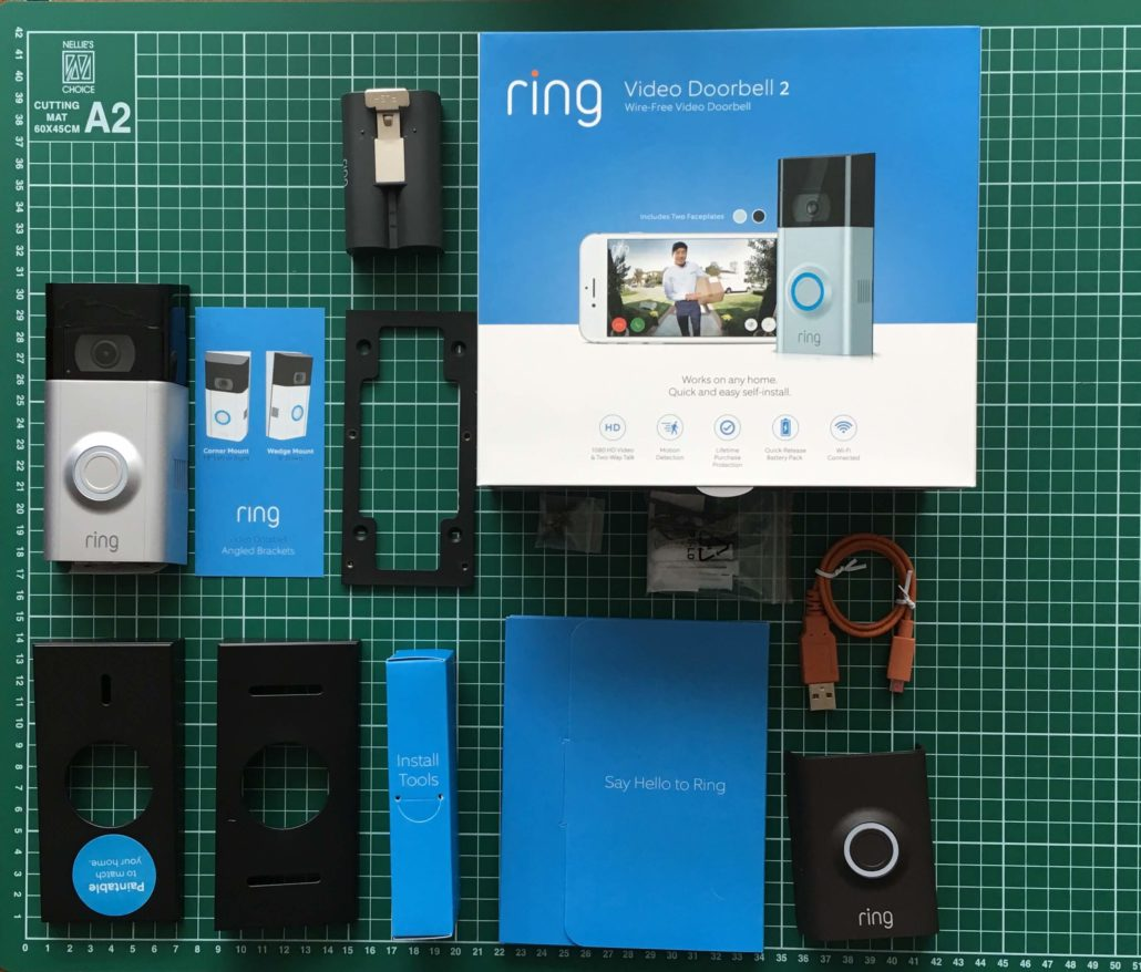 ring video deurbel 2 review unboxing