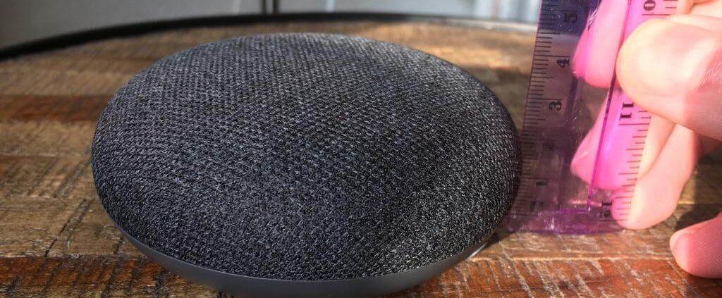 smart speaker kopen van juiste afmeting