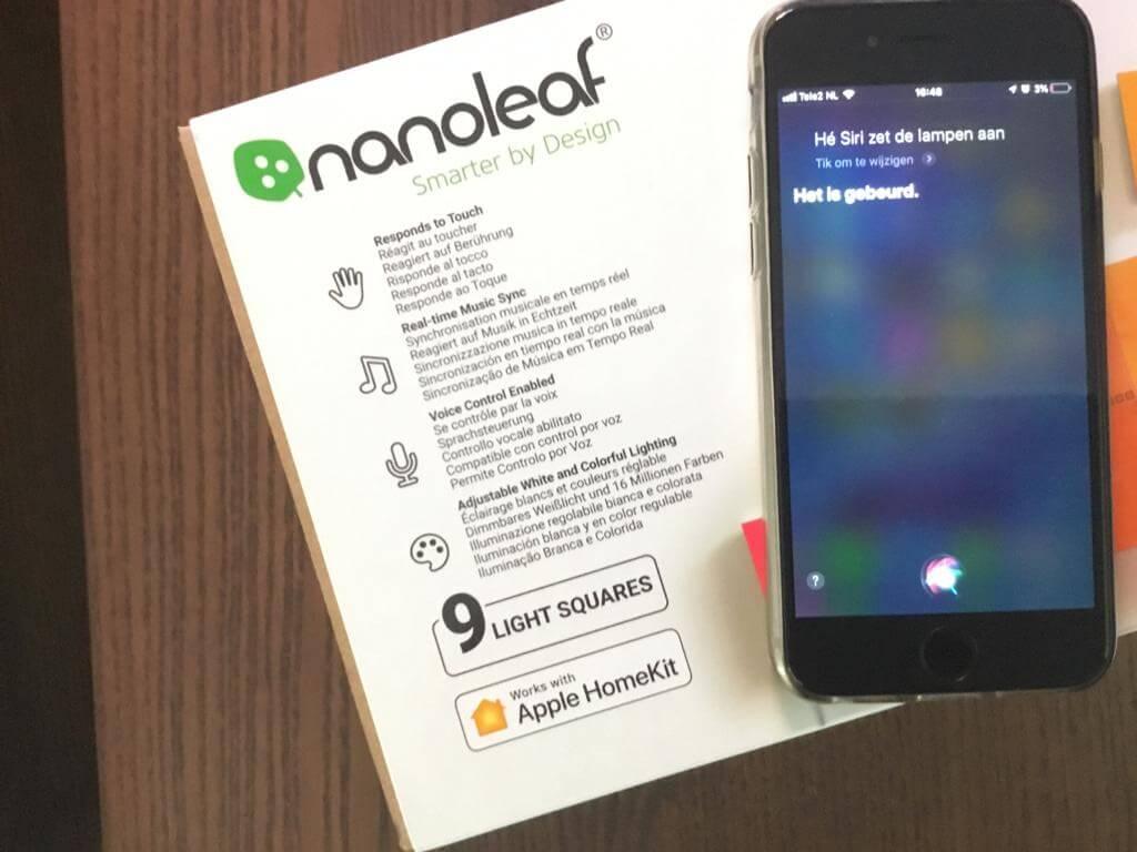 nanoleaf apple homekit