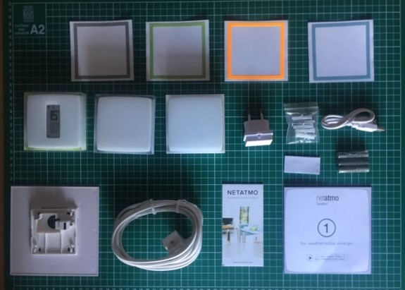 Netatmo thermostaat unboxing