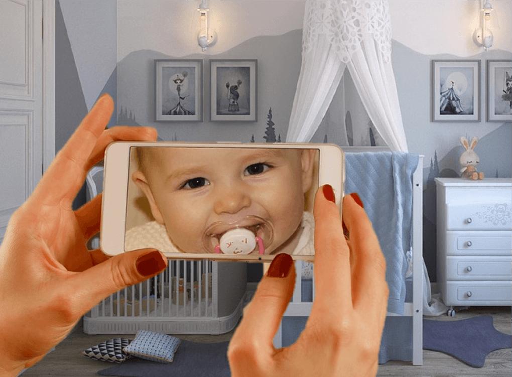slimme babyfoon te koppelen met smartphone