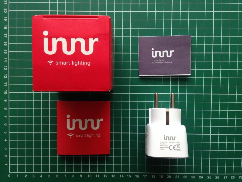 unboxing innr smart plug review