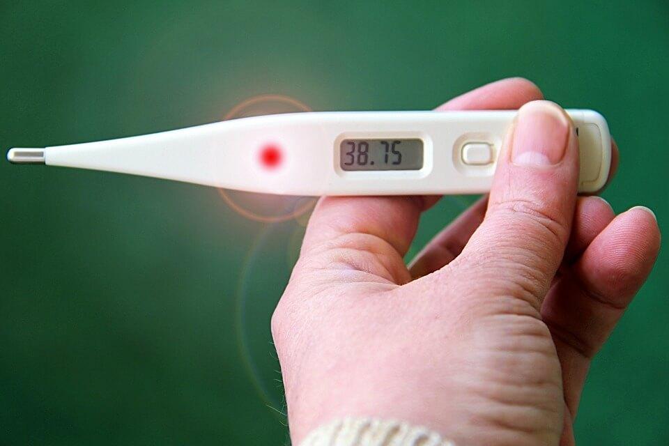 notificatie bij slimme thermometer