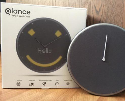 glance clock review