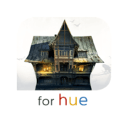 hue haunted house app