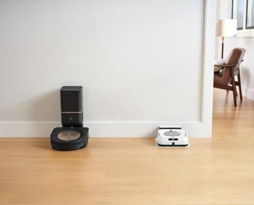 Roomba s9+ en Braava jet m6_Docked