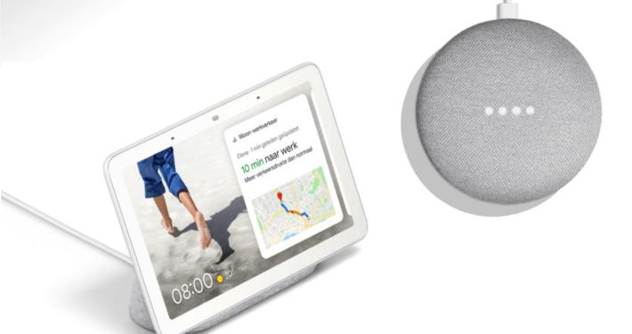 google nest hub aanbieding