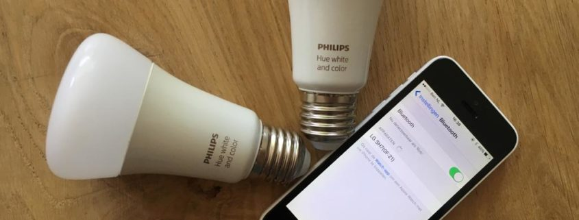 philips hue bluetooth lampen