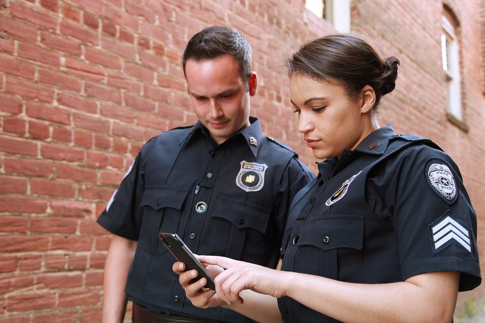ring deurbel politie amerika