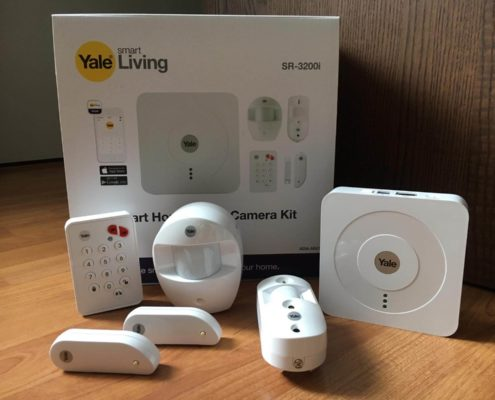 yale smart home alarm kit review