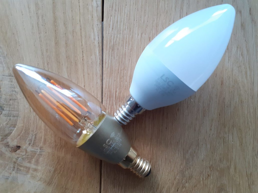 slimme lampen van LSC smart connect