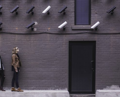 slimme beveiligingscamera zonder abonnement