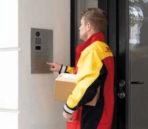 slimme deurbel voor een appartement