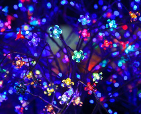 slimme kerstboomverlichting kunstkerstboom