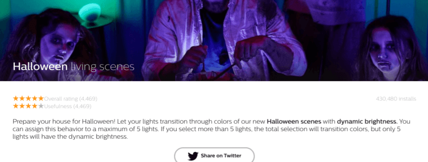 halloween met philips hue