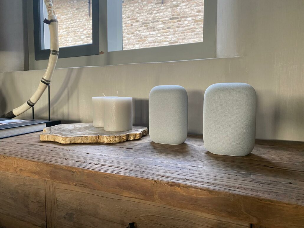 google nest audio koppelen