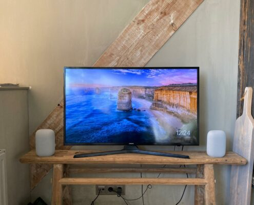 google nest audio koppelen met tv