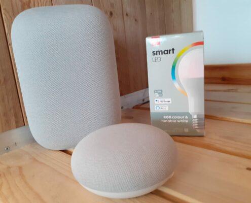 hema smart koppelen met google home