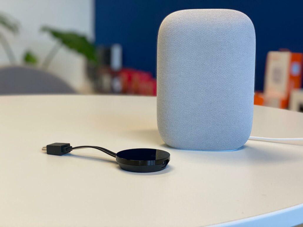 google nest audio met chromecaste integratie