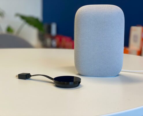 google nest audio met chromecaste integratie