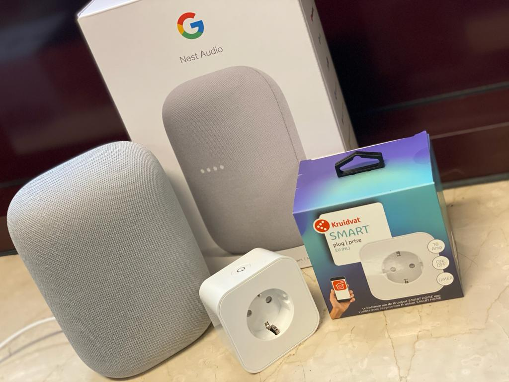 kruidvat smart home koppelen met google home