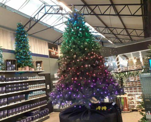 lidl slimme kerstboomverlichting