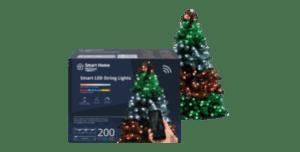lidl slimme kerstboomverlichting kopen