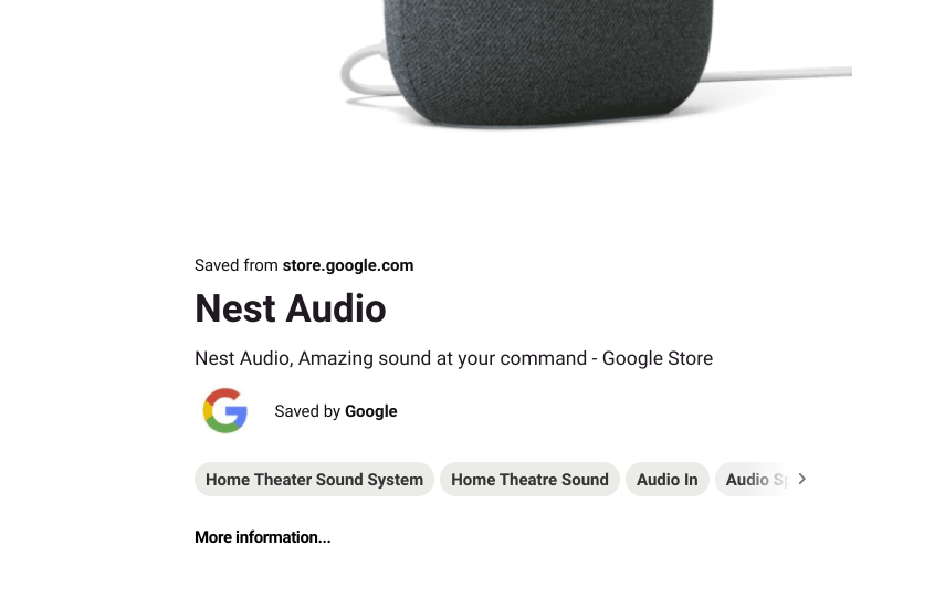 pinterest home cinema google nest audio