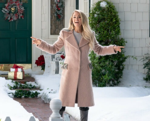 ring kerstcommercial carrie underwood