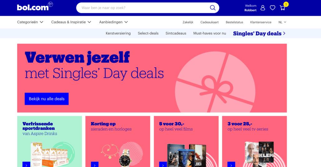 single days deals bol.com