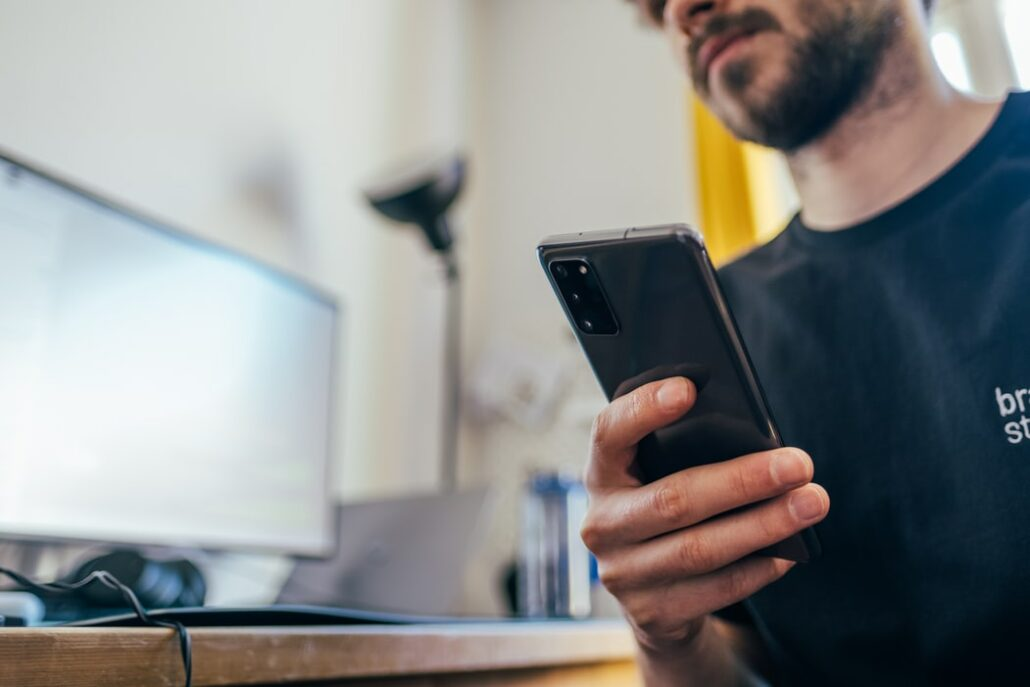 smartphone ontgrendelen met spraak