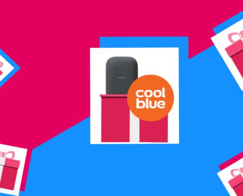 coolblue google nest audio smartventskalender