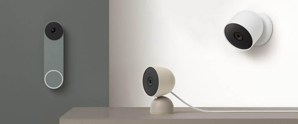 Nieuwe Google Nest deurbel en Cam (accu)