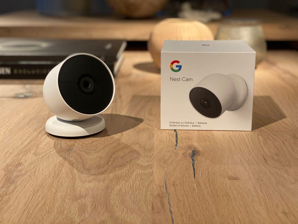 google nest cam batterij
