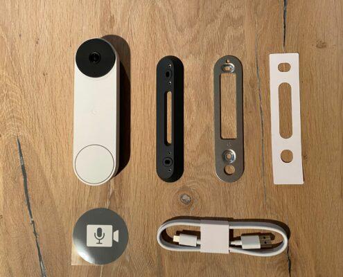 installatie google nest doorbell