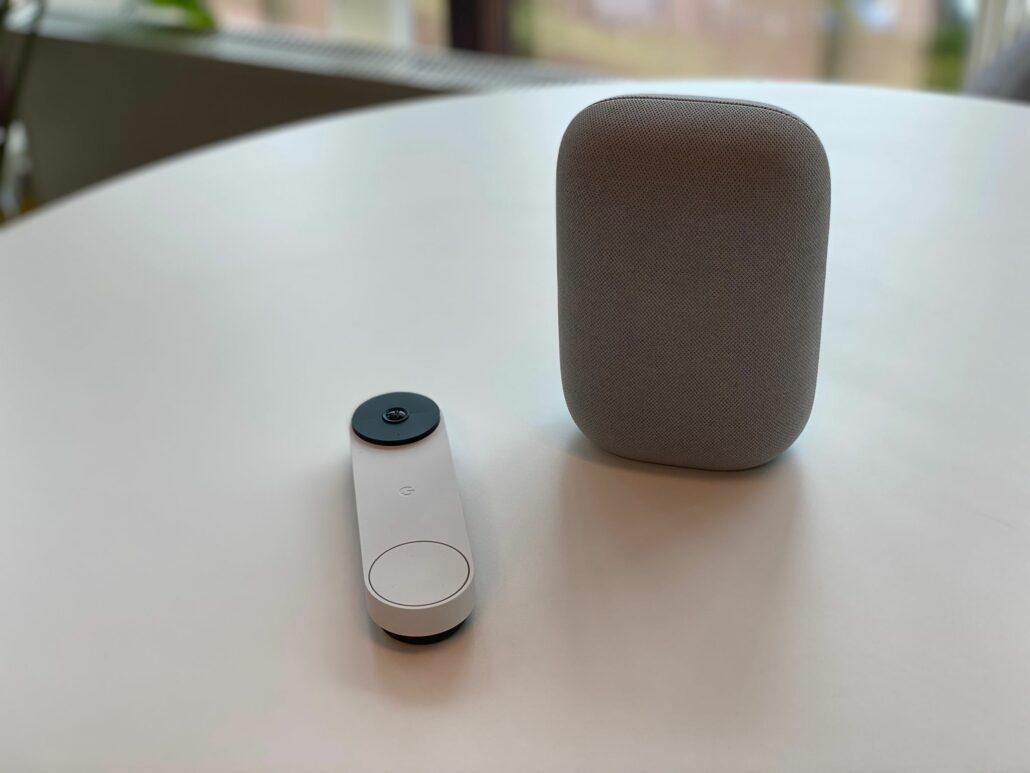 Google Nest Doorbell speaker