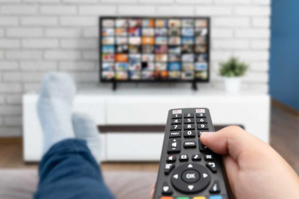 TV met ingebouwde chromecast